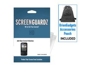 Motorola Droid Pro ScreenGuardz HD (Hard) Anti-Glare Screen Protectors (Pack of 2)