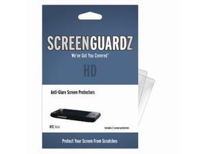 HTC Aria ScreenGuardz HD (Hard) Anti-Glare Screen Protectors (Pack of 2)