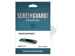 Apple iPhone 4S ScreenGuardz HD (Hard) Anti-Glare Screen Protectors (Pack of 2)