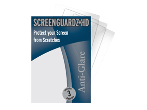Kindle DX ScreenGuardz HD (Hard) Anti-Glare Screen Protectors (Pack of 1)