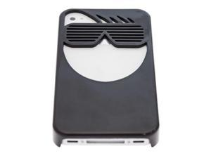 Apple iPhone 4 Ventev Rockstar Sun Glasses Plastic Protection Case (Black)