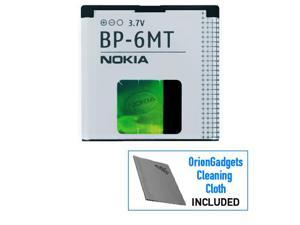 Nokia 6350 Li-Ion BP-6MT Polymer Replacement Battery (1050 mAh)