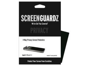 Apple iPhone 4 / 4S ScreenGuardz 4-Way Privacy Screen Protector (Pack of 1)
