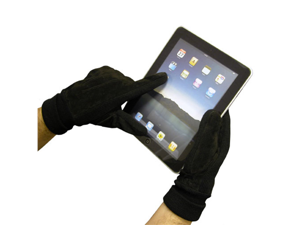 Touch Screen Warm Winter Gloves with Conductive Fingertips BTP-GLV-WNTBLK (Black)