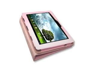 Fosmon PU Leather Folio Case Cover with Stand for Asus Transformer Prime TF201