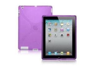 "Fosmon X-Shape Soft Shell TPU Case for Apple iPad 3 ""The New iPad"" 3rd Generation"