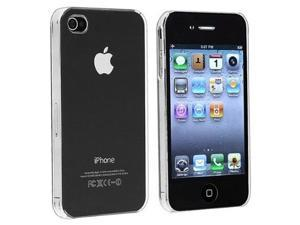 Fosmon Ultra Thin Air Jacket Skin Case + Screen Protector for Apple iPhone 4S / 4 (Clear)