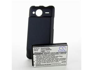 Fosmon 2400mAh Extended Lithium-ion Battery w/ Cover for HTC Evo Shift 4G