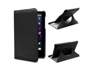 GreatShield Vogue Series Revolving Case with Sleep / Wake Function for Google Nexus 7 - Black