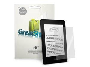 GreatShield Ultra Smooth Clear Screen Protector Film for Kindle - 3 Pack (Fits Kindle Paperwhite, Kindle, Kindle Touch, and ...