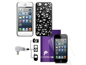 Fosmon MATT Series Birds Nest Case 5 in 1 Bundle for Apple iPhone 5