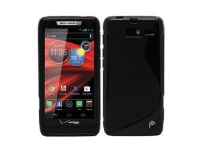 Fosmon DURA S Series TPU Case for Motorola DROID RAZR M 4G LTE / XT907 - Black