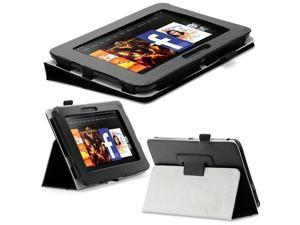 Fosmon Leather Folio Stand Case Cover Skin for Amazon Kindle Fire HD 7""