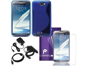 Fosmon DURA S Series TPU Case 7 in 1 Bundle for Samsung Galaxy Note 2 II / N7100