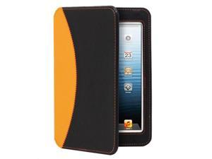 GreatShield LEAN Series Ultra-Thin Keyboard Case for Apple iPad Mini (Black / Orange)
