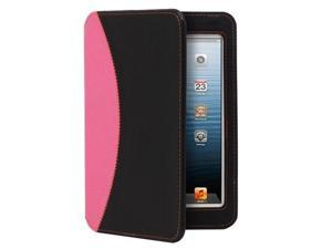 GreatShield LEAN Series Ultra-Thin Keyboard Case for Apple iPad Mini (Black / Pink)