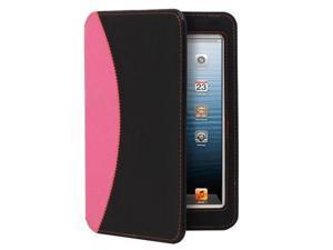GreatShield LEAN Series Ultra-Thin Keyboard Case for Apple iPad Mini (Black / Pink)