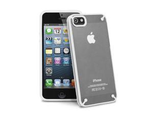 GreatShield RADIANT Series Slim Case for iPhone 5/5S - Transparent/White