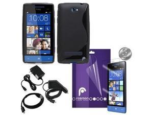 Fosmon 7 in 1 Bundle for HTC Windows Phone 8S / HTC Accord