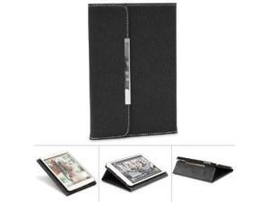 "GreatShield TOME Series Envelope SLIM Leather Case with Foldable Stand for the iPad Mini 7.9"" Tablet (Black)"