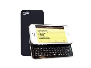 Fosmon Sliding Bluetooth Keyboard Case for Apple iPhone 5 - Black