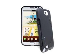 GreatShield Guardian S Series Premium Slim TPU Case for Samsung Galaxy Note 2 II / N7100 - Black