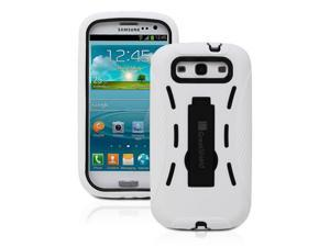 GreatShield Rugged Dual Layer Hybrid Case with Kickstand for Samsung Galaxy S3 S III