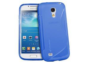 Fosmon DURA S Series TPU Case for Samsung Galaxy S4 mini / GT-I9190 / GT-I9195 - Blue