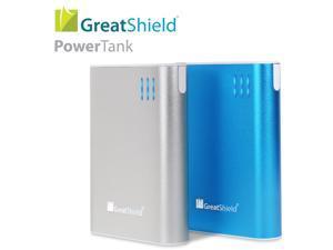 GreatShield PowerTank 10400mah Compact High Capacity Power Bank Portable External Battery Charger Pack (Dual 1.0A/2.1A USB ...