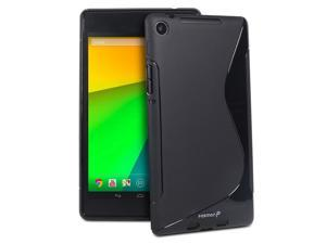 Fosmon DURA-S Series TPU Slim-Fit Case for Google Nexus 7 (2nd Generation, 2013) - Black