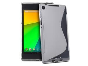 Fosmon DURA-S Series TPU Slim-Fit Case for Google Nexus 7 (2nd Generation, 2013) - Clear