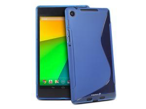 Fosmon DURA-S Series TPU Slim-Fit Case for Google Nexus 7 (2nd Generation, 2013) - Blue