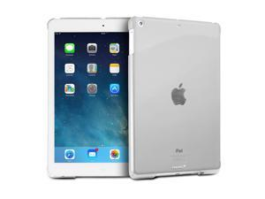 """Fosmon SLIM Series Smart Cover Companion Case for Apple iPad Air 9.7"""" Tablet - Transparent Clear"""