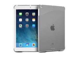 "Fosmon SLIM Series Smart Cover Companion Case for Apple iPad Air 9.7"" Tablet - Transparent Smoke"