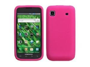 Fosmon Soft Silicone Case fits Samsung Vibrant T959- Pink
