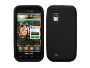 Fosmon Soft Silicone Case fits Samsung Fascinate SCH-i500- Black