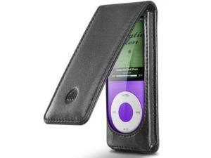 DLO DLA71025/17 Leather Hip Case Folio fits Apple iPod nano 4th Gen (Black)