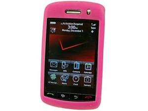 Cellet SCBLK9500HPK Jelly Case Silicone Case for BlackBerry Storm 9530 - Hot Pink