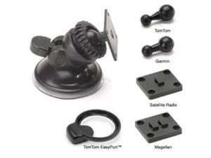 Bracketron SWM-400-BL Low-Pro Windshield GPS Mount for Garmin, Magellan & TomTom