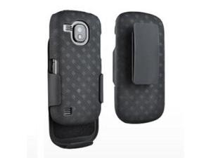 OEM Verizon Samsung Continuum SCH-i400 Hard Shell Case & Holster Combo