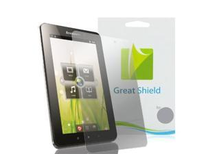 GreatShield Ultra Anti-Glare (Matte) Clear Screen Protector Film for Lenovo IdeaPad A1 Touchscreen Tablet (3 Pack)