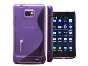 GreatShield Guardian S Series Slim-Fit SLine Design TPU Case for AT&T Samsung Galaxy S ll S2 SGH-i777 , Attain (Purple)