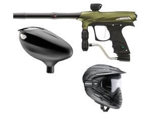 Proto 2011 PMR Rail - Olive + Primo Loader + Full Coverage Goggles