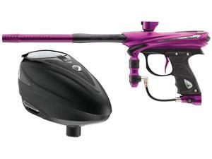 Proto 2013 Reflex Rail Paintball Gun - Purple/Graphite + Dye Rotor