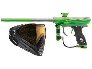 Proto 2013 Reflex Rail Paintball Gun - Lime/Graphite + i4 Goggles