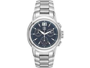 ESQ 07300864 Stainless Steel Quest Blue Dial Chronograph