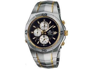 Casio EF514SG-1A Two Tone Stainless Steel Edifice Alarm Chronograph