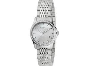 Gucci G Timeless Diamond Bracelet Watch YA126506