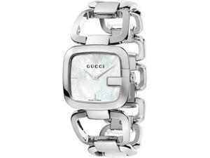 Gucci G-Class Mother-of-Pearl Dial Women's Watch #YA125404