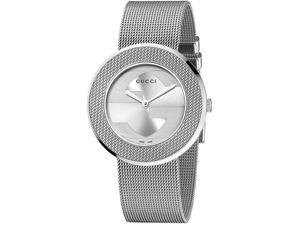 Gucci U-Play Silver-Tone Dial Women's Watch #YA129407
